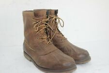 POLO RALPH LAUREN WHITSAND BOOTS SIZE 13 D BROWNS IN GREAT CONDITION
