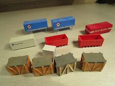 11x Roco Wiking usw. Container Wechselbrücken H0