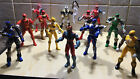 FREE DELIVERY A Selection Of Power Rangers Action Figures.