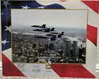 Original Blue Angels 2002 Twin Towers-World Trade Center Flyover Poster / Litho