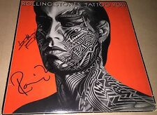 Keith Richards Ronnie Wood The Rolling Stones Hand Signed Tattoo You Album w/COA