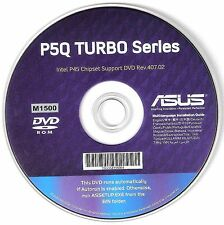ASUS P5Q PRO TURBO Motherboard Drivers Installation Disk M1500
