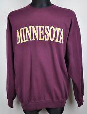 CHAMPION Vintage 90s XL Minnesota Sweatshirt Jumper Sweater University Vikings