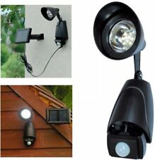 Super Bright Garden Solar Powered LED Security Spot Light Lamp PIR Motion Sensor