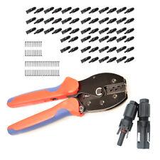 30x Paar MC4 Stecker 1-1 Solarstecker + Crimpzange 2,5/4/6mm² - Crimping Tool