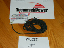 GENUINE Tecumseh pull starter rope kit Fits Snowblowers Tillers Lawnmowers 114''