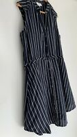 ONCE WAS SPENCER LACY divine Stripe Linen Shirt Dress & Top Size 4 14