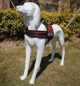 Adjustable non pull dog harness training control – small,medium,large,extra big