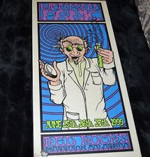 Widespread Panic 1999 Red Rocks Poster Mounted on Board Artist Signed #446/1000