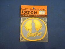 "Vintage ""Master"" Foot Prints - Trucker Hat Jacket Style Patch"