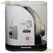 Panasonic Hxd3 Fashion Stile Dj On-Ear Stereo Portatile Cuffia+Telefono