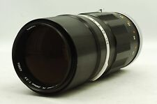 @ Ship in 24 Hours! @ Vintage Telephoto! @ Canon FL 200mm f3.5 FL-Mount MF Lens