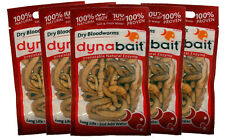 Dynabait blood worms 5x fishing tackle, bait