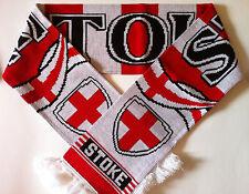 Stoke Football Scarves New from Superior Acrylic Yarns