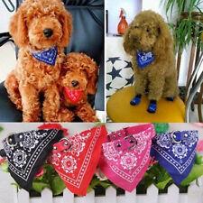BL_ Small Adjustable Puppy Dog Cat Bandana Scarf Collar Neckerchief Pet Ties Env