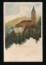Germany Schloss Zwingenberg am Neckar c1902 u/b PPC v Neckar Serie 1 #12