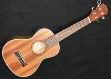 "Kilauea 26"" Tenor Sz Acoustic Electric Tuner Ukulele Sealed Machines Curved Back"
