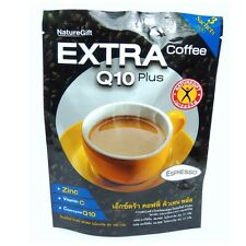 Extra Q10 Sugar free coffee plus diet slimming weight loss instant naturegift