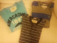 diverse T-shirt;Abercrombie, Superdry, Hollister; diverse Farben, Je 5 Euro