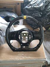 Mitsubishi Evo X 10 Carbon Fiber Steering Wheel Bag Cover.