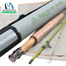 """For Small Creek 1/2/3WT Fly Rod (Graphite IM10) 6' / 6'6""""/ 7' / 7'6"""" Fly Fishing"""