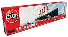 Airfix 1504207 RMS Mauretania 1:600 Modellbau Modell Schiff Bausatz Zivilschiff