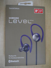 Samsung Level Active Wireless Bluetooth Fitness Earbuds - Blue NEW.