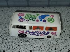 TYCO PRO SLOT CAR VW VOLKSWAGEN BUS LOVE & PEACE