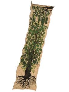 KAPITAL Capital 100% Wool Baobab Muffler Stall Brown Green Scarf 2 Colors NEW