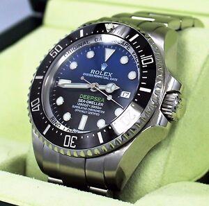 Rolex Sea-Dweller Deepsea 116660BLSO JAMES CAMERON Black/Blue Ceramic Mint
