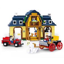 Sluban B0560 Town Farm Granja Establos Block Assembled Toy 526 piezas