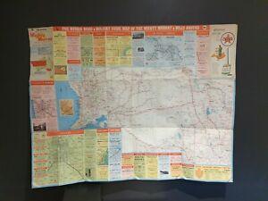 The Ruskin Souvenir Issue of Mildura & Miles Around Tourist Map