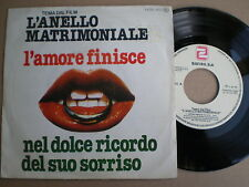 L'ANELLO MATRIMONIALE OST R. Soffici SPAIN 45 1979
