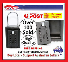 SURF LOCK BUTTON KEY SAFE BOX STORAGE PADLOCK COMBINATION MTB CYCLING RUNNING