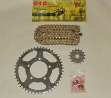 DID Gold X-Ring Chain And JT Sprocket Kit Fits GSF600 Bandit 00-04 MK2