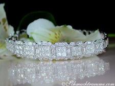 Reinheit VVS Echte Diamanten-Armbänder aus Weißgold