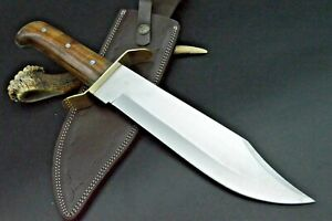 XXL Bowie Messer 440er Stahl Taschenmesser Damastmesser Jagdmesser Mega LANG E4
