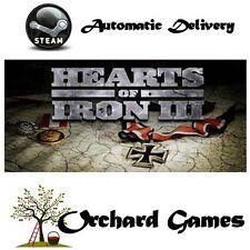 Hearts of Iron III 3 : PC MAC  :  Steam Digital : Auto Delivery