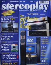 Stereoplay 12/95 harman/kardon hk 640/HK 620, Sony ta fa 3 es, Onkyo cr-70 R