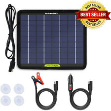 ECO-WORTHY 12V 5W Portable Solar Panel Power for Car Battery Charger with Back
