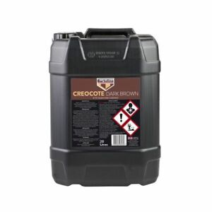 CREOCOTE 20 LITRE BARTOLINE - DARK BROWN Oil Based Timber Treatment 20L 20 L