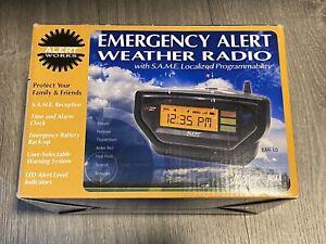 Alert-Works Emergency Alert Weather Radio SAME Programmability EAR-10 HG8