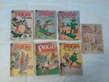 7 Pogo Possum by Walt Kelly Golden age 1938-1955 collection