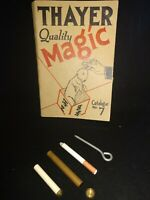 Vintage Eclipse Cigarette Case No. 112 Thayer's Magic As In Catalog No. 7