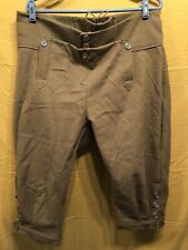 Knee Breeches, Size 38 Light Brown - Rendezvous, Mountain Man, Colonial, Pirate