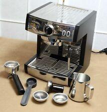 Graef Pivalla ES702EU Siebträger-Espressomaschine mit Milchaufschäumer