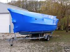 Boat, Marine, Construction Shrink Wrap 20' W  X  Footage (Blue)