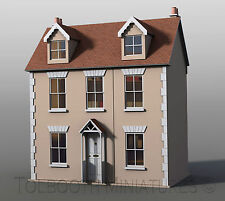 Willow Cottage Dolls House 1:12 Scale -  Unpainted Collectable Dolls House Kit