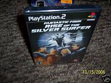Fantastic 4: Rise of the Silver Surfer (PlayStation 2)