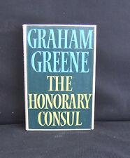 Graham Greene  The Honorary Consul   1st UK Edt  H/C D/J 1973